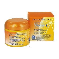 Avalon organics vitamin C rejuvenating oil free moisturizer - 2 oz