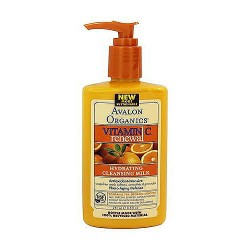 Avalon organics vitamin C hydrating cleansing milk - 8.5 oz