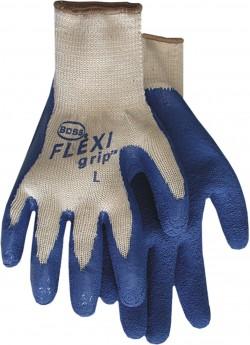 Boss Manufacturing P flexigrip latex palm string knit glove - medium, 144 ea