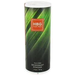Honeybee Gardens Deodorant Powder for Men Talc Free Bay Rum - 4 oz