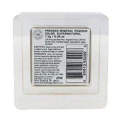 Honeybee Gardens Pressed Mineral Powder Foundation, Supernatural - 0.26 oz