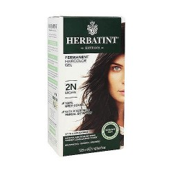 Herbatint permanent herbal haircolor gel with aloe vera #2N brown - 4.56 oz