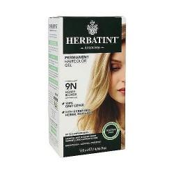Herbatint permanent herbal haircolor gel with aloe vera #9N Honey Blonde - 4 oz