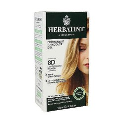 Herbatint permanent herbal haircolor gel #8D Light Golden Blonde - 4.56 oz