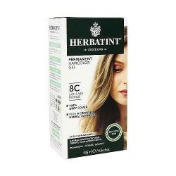 Herbatint permanent herbal haircolor gel #8C Light Ash Blonde, 4.56 oz