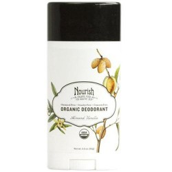Nourish organic fresh and dry deodorant, almond and vanilla - 2.2 oz