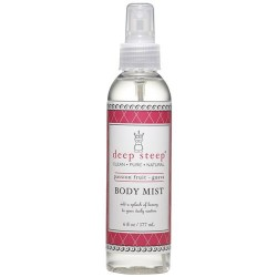 Deep steep body mist, passion fruit guava - 6 oz