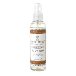 Deep steep body mist brown sugar vanilla - 6 oz