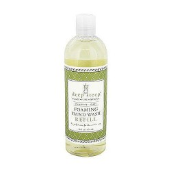 Deep steep foaming refill hand wash, rosemary mint - 16 oz