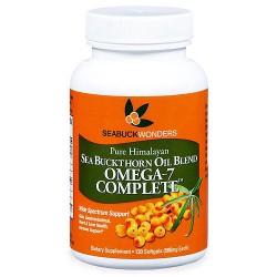 Seabuck Wonders Sea Buckthorn Oil Blend Omega-7 Complete 500 mg Softgels, 120 ea