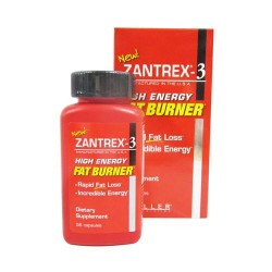 Zantrex-3 high energy fat burner capsules - 56 ea