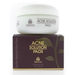 Devita Acne Solution Pads - 2 oz