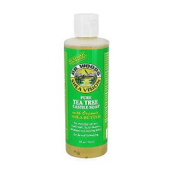 Dr.Woods Shea Vision Castile Soap, Pure Tea Tree - 8 oz