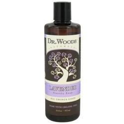 Dr. Woods organic castile soap lavender -16 oz