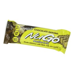 Nugo nutrition to go bar with real milk chocolate banana -  1.76 oz, 15 pack