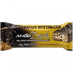 NuGo Nutrition Bar - Dark Peanut Butter Cup - 1.76 oz - 12 pack