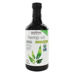 Nutiva - hemp oil organic cold pressed - 16 oz