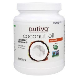 Nutiva - organic refined coconut oil - 54 oz