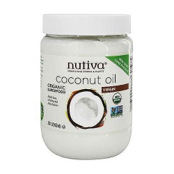 Nutiva Coconut Oil Organic, Extra Virgin - 29 oz, 6 pack