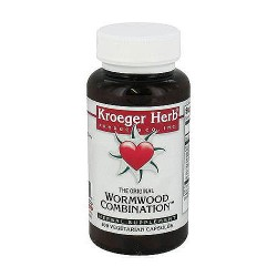 Kroeger Herbs Herbal Combinations Wormwood Combination Capsules - 100 ea