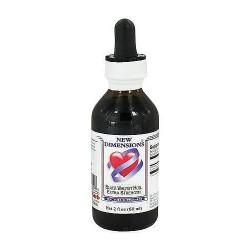 Kroeger Herb Black Walnut Hull Extract, Tincture Supplement - 2 oz
