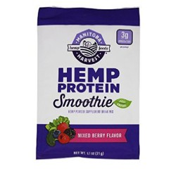 Manitoba harvest hemp protein smoothie - 1.1 oz, 12 ea