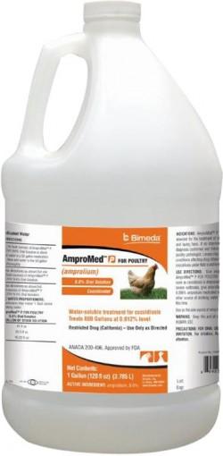 Durvet Inc D ampromed for poultry - 1 gallon, 4 ea