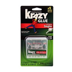 Krazy glue all purpose singles fine tip - 0.017 oz