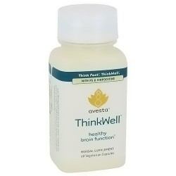 Avesta ThinkWell Healthy brain function capsules with PS and vinpocetine, 60 ea