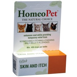 HomeoPet feline skin and itch relief remedy - 1 ea