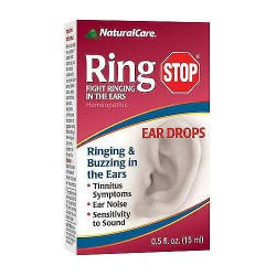 NaturalCare Ring Stop Homeopathic Ear Drops - 0.5 oz