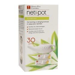 Himalayan Chandra Eco Neti Pot with 30 Neti Salt Sachets - 1 ea