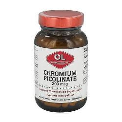Olympian Labs super chromium picolinate 200 mcg capsules - 100 ea