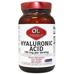 Olympian Labs hyaluronic acid capsules for skin hydration - 100 ea