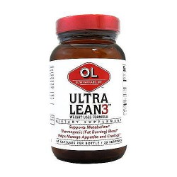 Olympian Labs Ultra Lean 3 Capsules, Weight Loss Formula - 60 ea