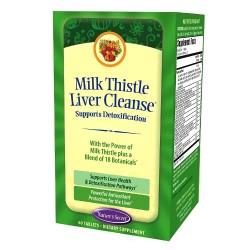 Nature's secret milk thistle liver cleanse - 60 ea