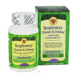 Natures Secret ultimate respiratory cleanse tablets - 60 ea