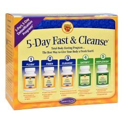 Nature's secret 5 day fast and cleanse - 1 ea