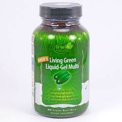 Irwin naturals living green liquid, gel multi for men softgels - 90 ea