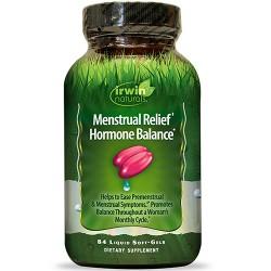 Irwin naturals menstrual relief hormone balance soft gels - 84 ea