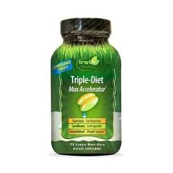 Irwin naturals triple diet max accelerator - 72 ea