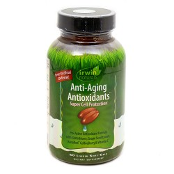 Irwin naturals anti aging antioxidants diet supplement liquid softgels - 60 ea