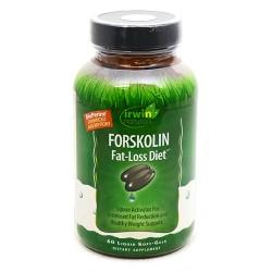 Irwin naturals forskolin fat loss diet supplement - 60 ea