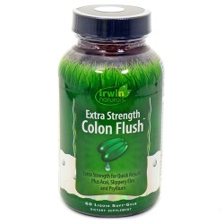 Irwin naturals extra strength colon flush overall health supplement - 60 ea