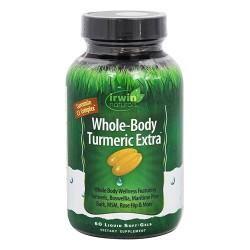 Irwin naturals whole body turmeric extra - 60 ea