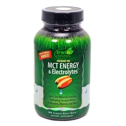 Irwin naturals coconut oil mct energy and electrolytes - 60 ea