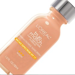 Loreal true match super-blendable liquid makeup, warm nude beige - 2 ea