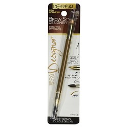 Loreal paris brow stylist designer eye brow pencil, blonde - 1 ea