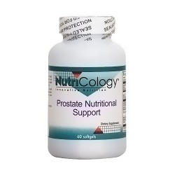 NutriCology Prostate nutritional support softgels - 60 ea