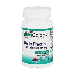 NutriCology Delta-Fraction tocotrienols 50 mg softgels - 75 ea
